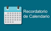 Recorditorio de calendario