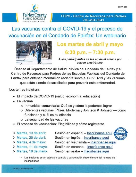 vaccine spanish