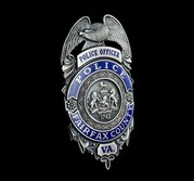 Reston police badge