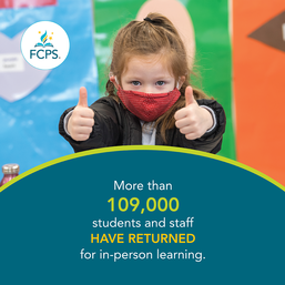 FCPS returns more than 109,000 students