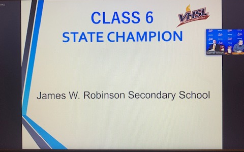 Scholastic Bowl Class 6 State Champions