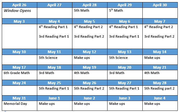 SOL Schedule