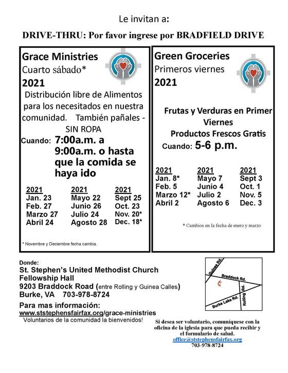 Grace Ministries distribución libre