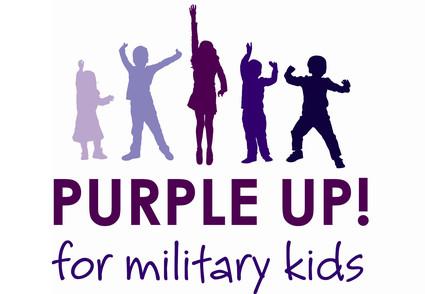 purple up