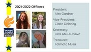 2021-2022 NJHS Officers