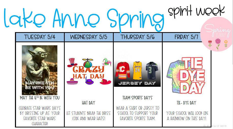 spirit week 1