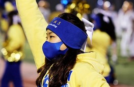 FCPS student wearing mask