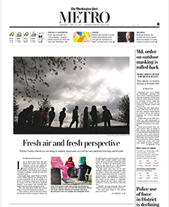 FCPS featured on WAPO image of page