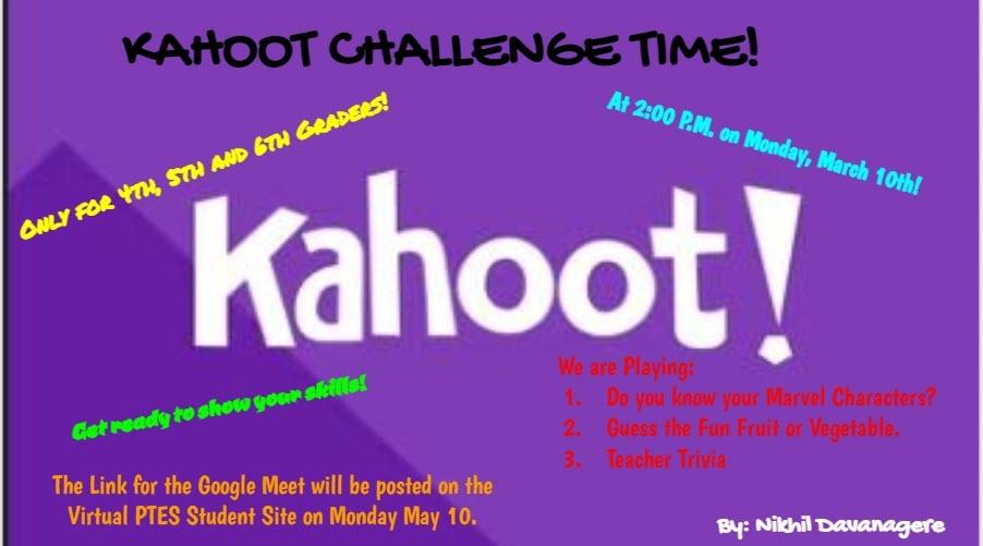 Kahoot Challenge