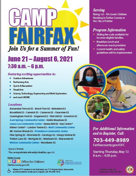 camp fairfax