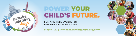 Remake learning program ad graphic