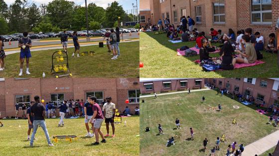 Outdoor lunch activities for seniors