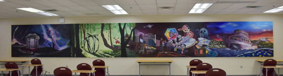 A picture of full mural