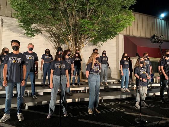 Herndon HS Choir Performanance2021