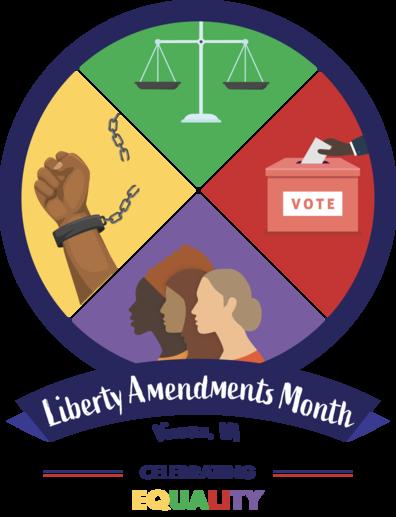 Vienna Liberty Amendments Month graphic