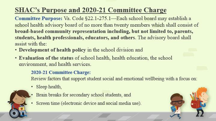 SHAC Annual Report Presentation Slide