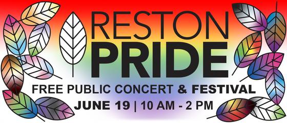 Reston Pride graphic