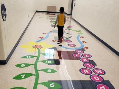 McNair sensory hallway
