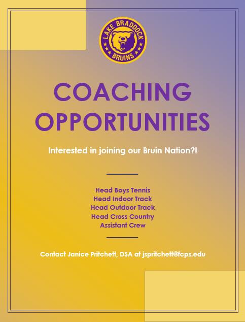 LBSS Coaching Opportunities