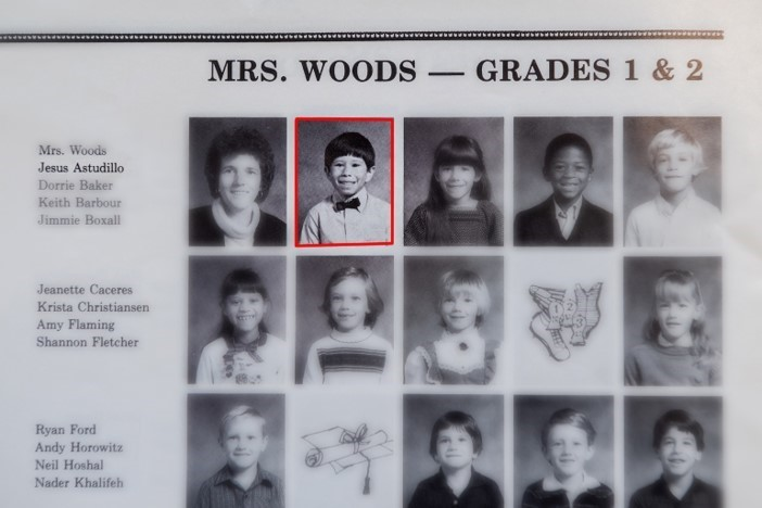 Picture of Columbia Elementary School yearbook