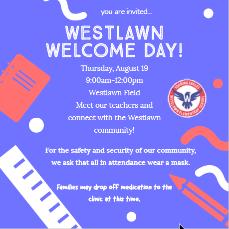 Westlawn Welcome Event
