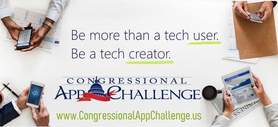 2021 Congressional App Challenge ad