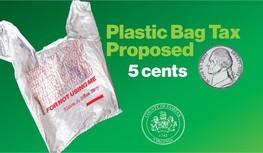 Plastic Bag 5 cent tax