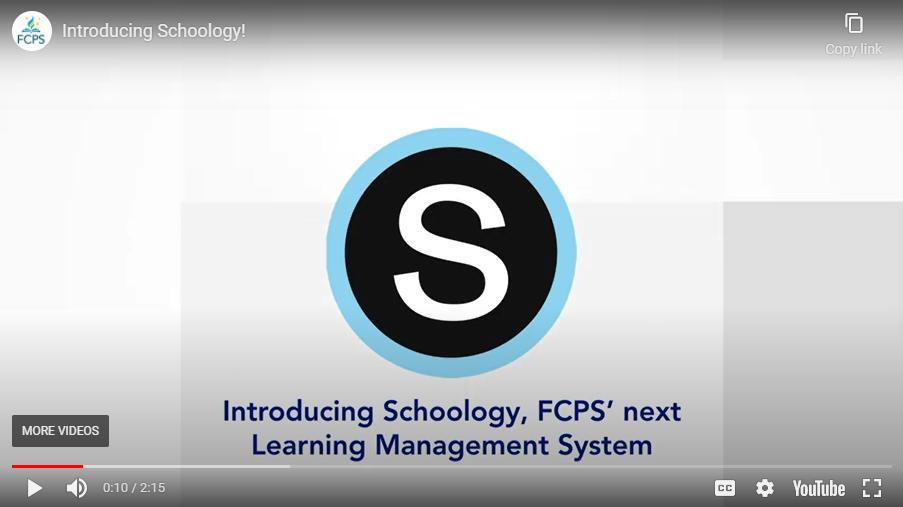 Schoology video clip
