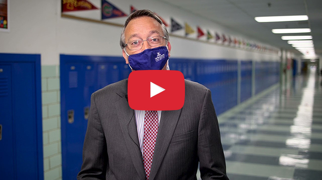 Dr. Brabrand Welcome Back Message