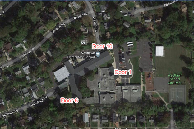 Aerial Map of Campus
