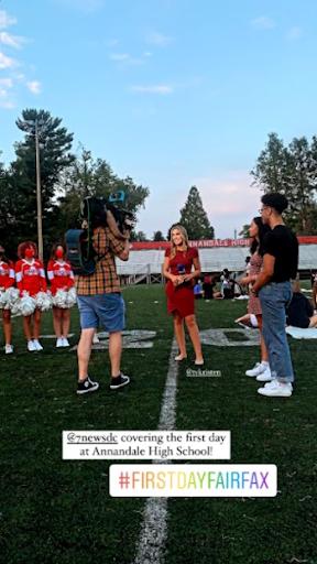 Media at Annandale High School