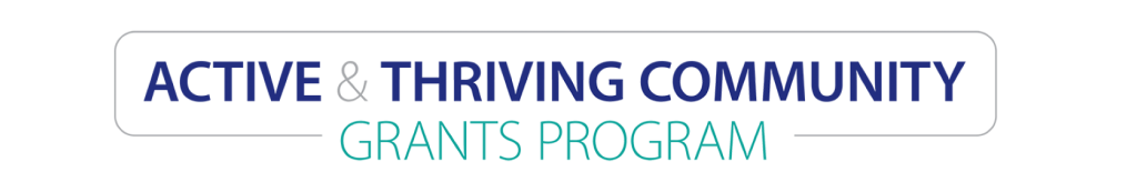 Active and Thriving Grants graphic