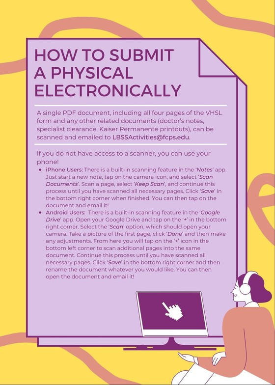 Submit a physical electronically