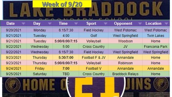 Athletics This Week