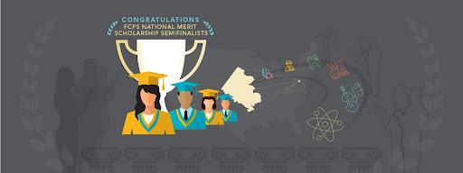 National Merit Scholars graphic
