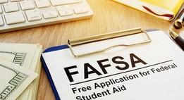FAFSA on clipboard