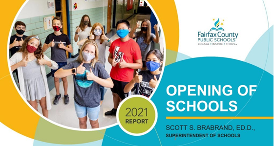 Opening of Schools Report presentation cover slide