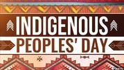 Indigenous Peoples' Day graphic