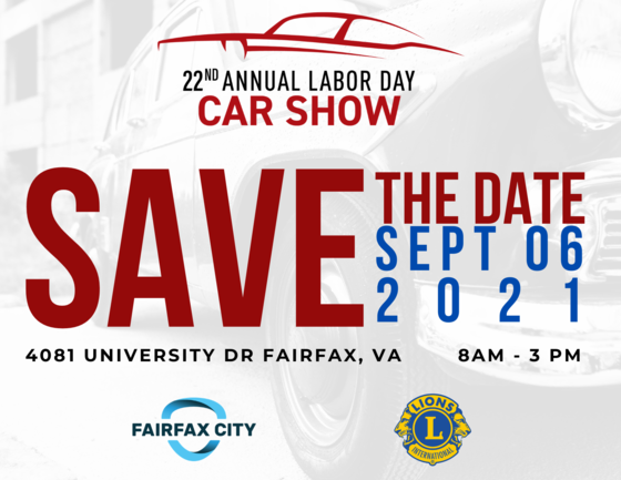 Labor Day Car Show save the date