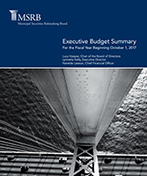MSRB Budget Summary cover image