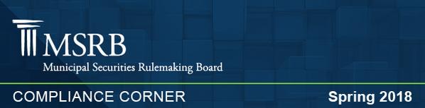 March 2018 Compliance Corner Banner