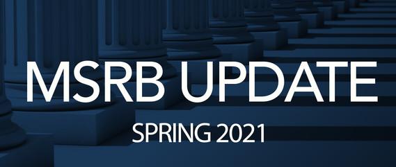 MSRB Update image