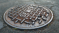 Manhole cover - sewer