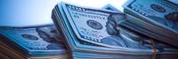 Stacks of cash money