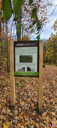 Park History Sign - Red Rocks Park