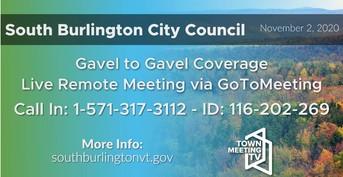 City Council Meeting Slide