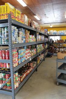 Food Shelf - food on shelves