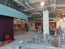 Library taking shape