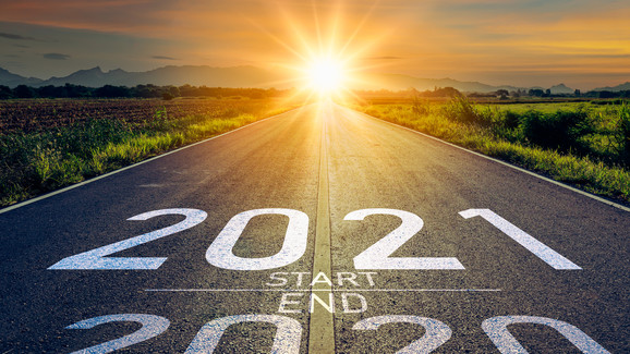 End 2020 Start 2021 - Happy New Year