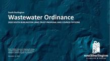 Wastewater ordinance